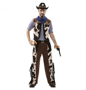 Costume da Cowboy cannoniere per uomo