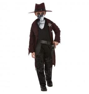 Costume da Zombie Cowboy per bambino