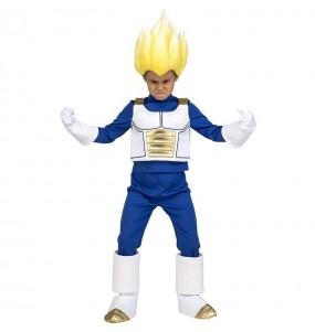 Travestimento Vegeta Super Saiyan Dragon Ball bambino che più li piace