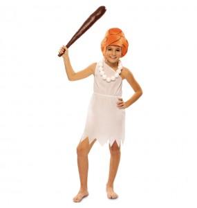 Travestimento Wilma Flintstones bambina che più li piace