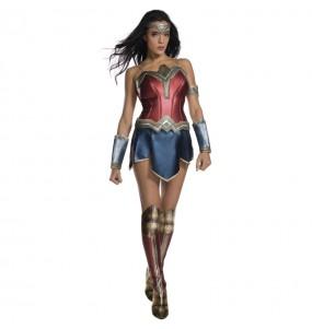 Travestimento Wonder Woman di Lusso donna per divertirsi e fare festa