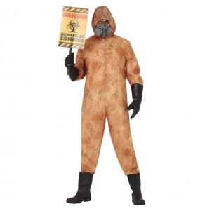 Costume da Zombie nucleare per uomo