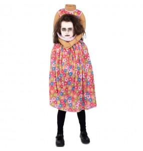 Costume da Zombie senza testa per bambina