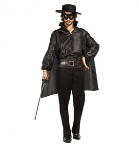 Costume da Zorro mascherato per uomo