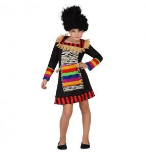 Travestimento Zulu bambina che più li piace
