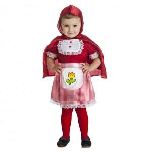 Costume da fiaba Cappuccetto per bambina