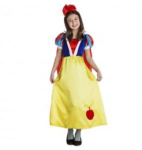 Costume da fiaba Biancaneve per bambina