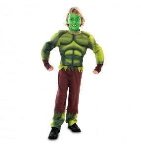 Travestimento mostro verde - Hulk bambino che più li piace