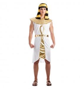 Travestimento Egiziano Dorato adulti per una serata in maschera