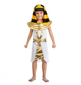 Travestimento Egiziano Dorato bambino che più li piace