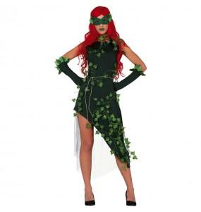 Travestimento Poison Ivy di Batman donna per divertirsi e fare festa