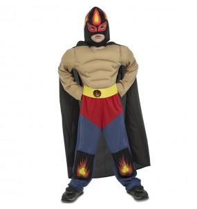 Travestimento Lottatore Messicano Rey Mysterio bambino che più li piace