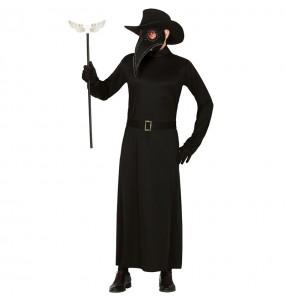 Travestimento Dottore della peste nera adulti per una serata ad Halloween