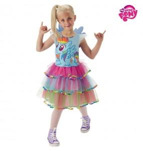 Travestimento My Little Pony Rainbow bambina che più li piace