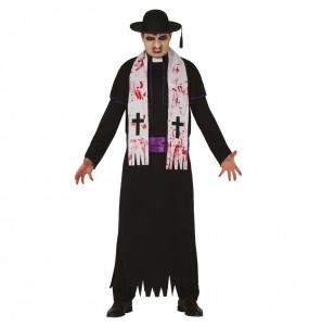 Costume da Padre karras Esorcista per uomo