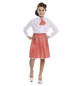 Travestimento Pin Up rossa bambina che più li piace