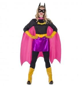 Travestimento Supereroina Pipistrello donna per divertirsi e fare festa