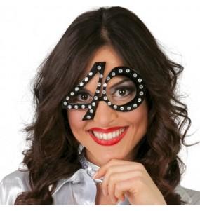 I più divertenti Occhiali compleanno 40 anni per feste in maschera