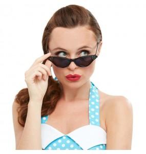 I più divertenti Occhiali Grease neri per feste in maschera