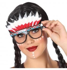 I più divertenti occhiali indiani d'America per feste in maschera