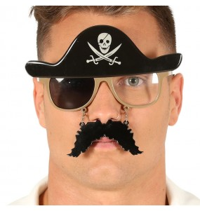 I più divertenti Occhiali pirata per feste in maschera