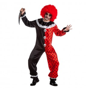 Travestimento Pagliaccio Halloween adulti per una serata ad Halloween