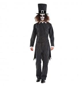 Travestimento Mister Grimbone adulti per una serata ad Halloween