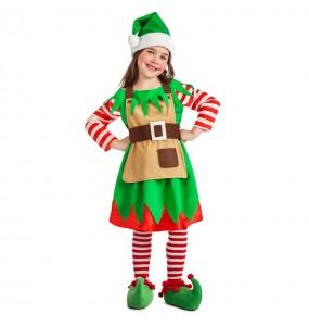 Travestimento Elfa di Natale bambina che più li piace