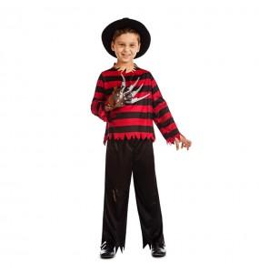 Travestimento Freddy Krueger bambini per una festa ad Halloween