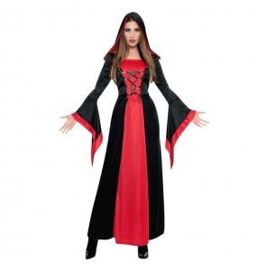 Costume Vampira Delle Tenebre donna per una serata ad Halloween