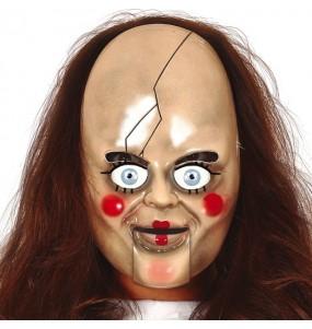 Maschera Annabelle per poter completare il tuo costume Halloween e Carnevale