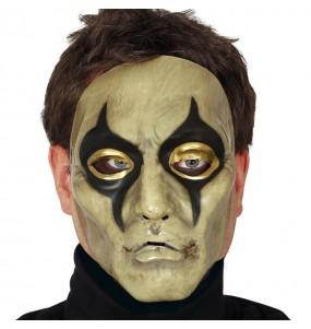 Maschera Arlecchino per poter completare il tuo costume Halloween e Carnevale
