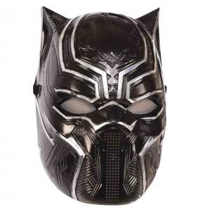 Maschera Black Panther Avengers per bambini per poter completare il tuo costume Halloween e Carnevale