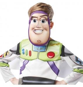 Maschera Buzz Lightyear Toy Story per poter completare il tuo costume Halloween e Carnevale