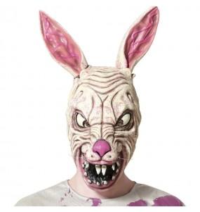 Maschera da coniglio zombie