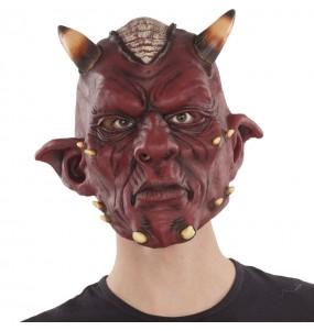 Maschera satana demone per poter completare il tuo costume Halloween e Carnevale