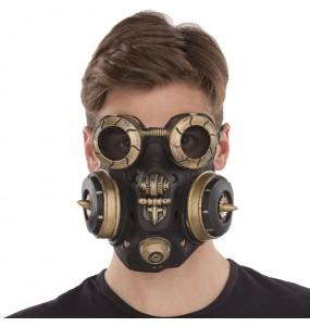 Maschera antigas Steampunk per poter completare il tuo costume Halloween e Carnevale