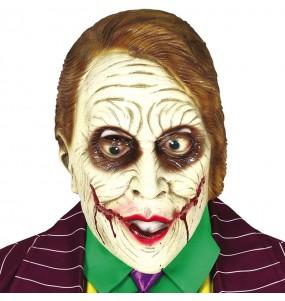 Maschera Joker Batman per poter completare il tuo costume Halloween e Carnevale