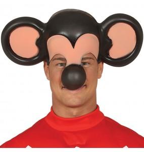 Maschera di Topolino per poter completare il tuo costume Halloween e Carnevale