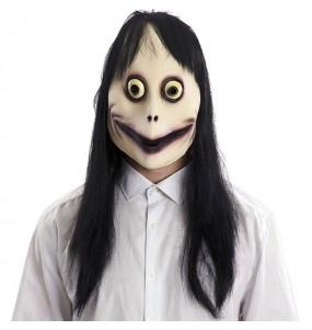 Maschera Momo per poter completare il tuo costume Halloween e Carnevale