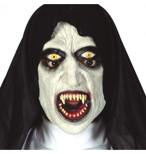 Maschera Nun Valak per poter completare il tuo costume Halloween e Carnevale