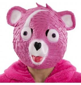 Maschera Cuddle Team Leader di Fortnite per poter completare il tuo costume Halloween e Carnevale