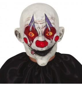 Maschera Clown Killer con sigaretta