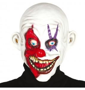 Maschera pagliaccio assassino sorridente