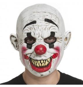 Maschera pagliaccio assassini The Purge per poter completare il tuo costume Halloween e Carnevale