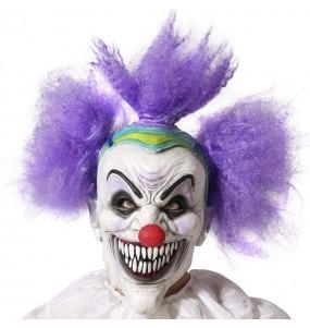 Maschera da clown inquietante