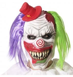 Maschera da clown dell'orrore
