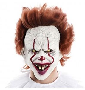 Maschera Clown IT per poter completare il tuo costume Halloween e Carnevale