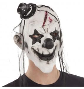 Maschera clown maniaco per poter completare il tuo costume Halloween e Carnevale