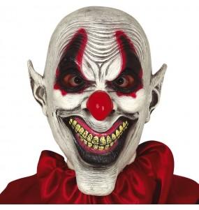 Maschera clown sarcastico per poter completare il tuo costume Halloween e Carnevale